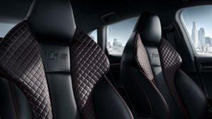Audi RS3 Sportback 2017 Fotele