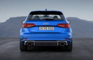 Audi RS3 Sportback 2017 tył