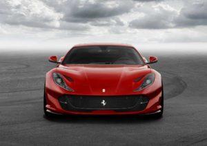Ferrari 812 Superfast Przód