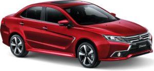 Mitsubishi Grand Lancer czerwony
