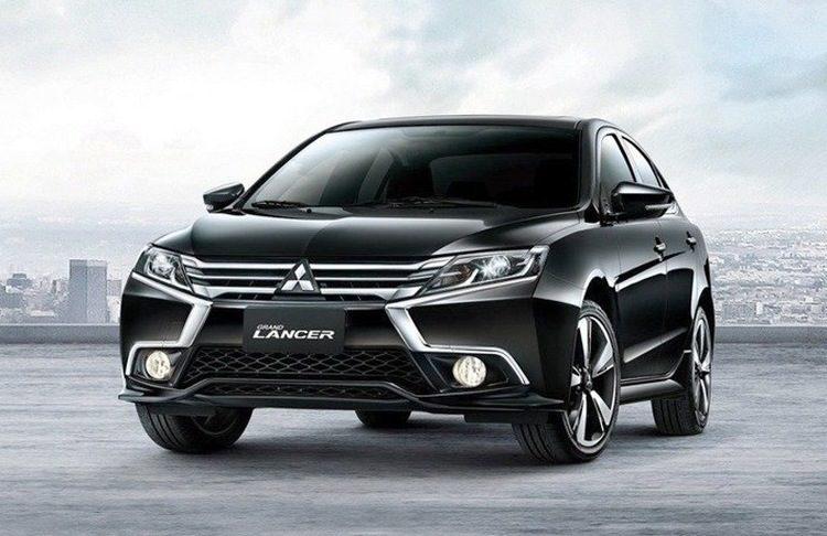 Mitsubishi Grand Lancer przód