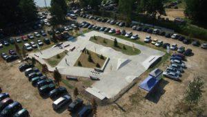 Ośrodek Topornia, pole namiotowe