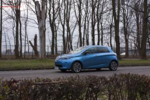 Renault Zoe linia
