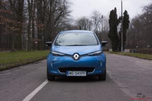 Renault Zoe przód