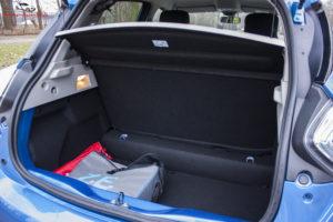 Renault Zoe bagażnik