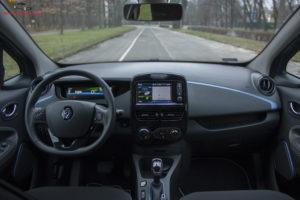 Renault Zoe deska rozdzielcza