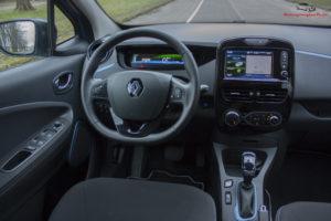 Renault Zoe kierownica