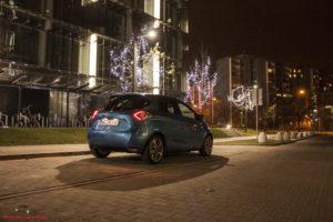 Renault Zoe nocą