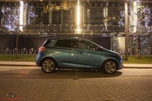Renault Zoe linia nadwozia