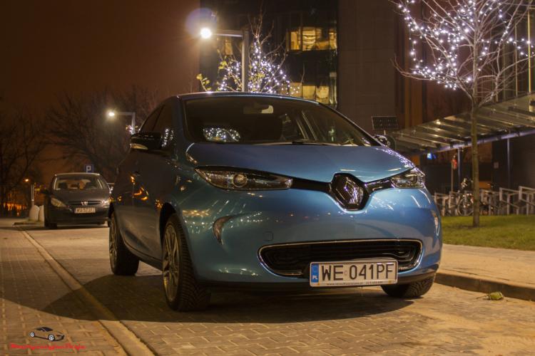 Renault Zoe miniatura posta